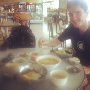 Getting the carbs in the 'Korean way'.