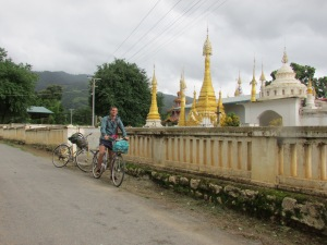 Always hidden gems to be found when cycling in Burma.