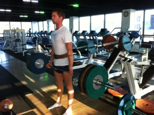 Training in the gym had finished for the next 11 months!