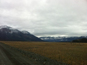 The Yukon is chillingly lonely at times.