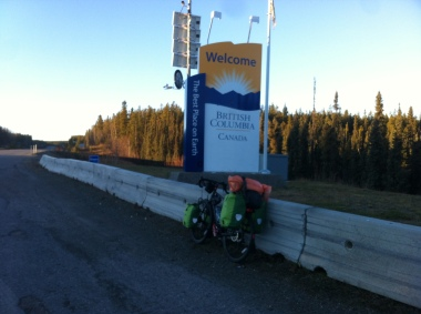 The very start of the Cassiar highway.