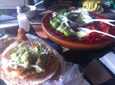 Baja's famous fish tacos