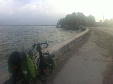 Reaching Carozal on my first night in Belize