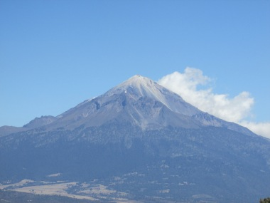 Nice view from the top of a climb of one of Mexico's many volcanoes