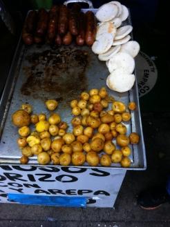 Chorizo con papas