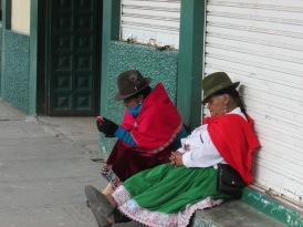 Ecuador has a hugely traditional Andean culture still