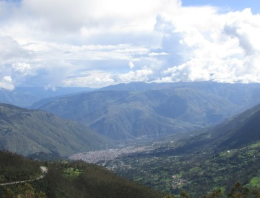The city of Abancay