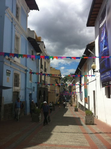 Quito's quaint streets