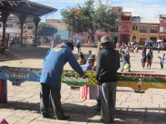 Table football is hugely popular in Bolivia