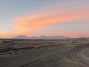Sunset in the desert is special