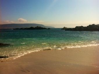 Beautiful Chilean coastline